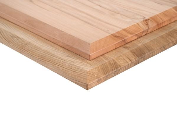 Solid wood desktops