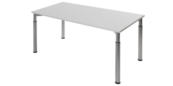 Height adjustable desk frame